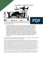 As Falácias Da Teoria Dos Bens Públicos e a Produção de Segurança
