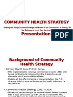 Introduction to Community Strategy Presentation