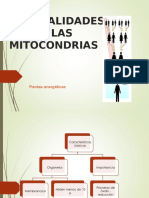 Mitocondriadas Importante