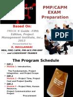Presentation on PMP Exam Preparation