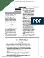DECRETO SUPREMO N° 023-2015-PCM - Norma Legal Diario Oficial El Peruano