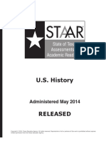 Staar Eoc May2014test Ushist