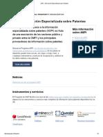 ASPI – Información Especializada Sobre Patentes