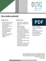 Plan de Estudios Arquitectura-cuat
