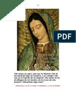 Los 46 Rosarios a La Virgen de Guadalupe