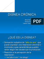 Disnea Cronica