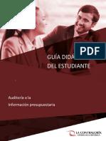 02.Guía Lima Auditoría a La Información Presupuestaria