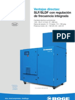 Catálogo compresores con variador SLF - SLDF