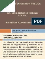 UNIDAD 9 SISTEMA NAC RACIONALIZACIÓN.ppt