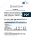 Material Fact - New guidance for expenses, depreciation and amortization and CAPEX budgets