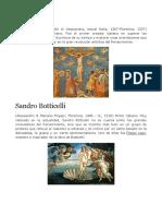 Biografia de Pintores Antiguos
