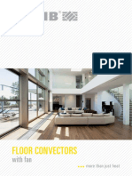Floor Convectors With Fan
