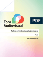 Padrón de Instituciones Audiovisuales 2016 (WEB)