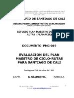 Estudio Plan Maestro de Ciclo-rutas (Plamacir)-Pm19