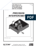 Complete Interferometer System Manual OS 9258B