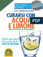 Estratto Acqua Limone Simona Oberhammer