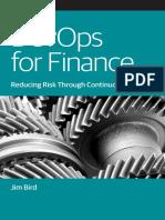 Devops for Finance