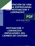 Cultura Empresarial Con Motivacion y Liderazgo