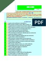 Plantillas Para Calificación CASM 83