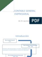 Plan Contable Gral. Empresarial