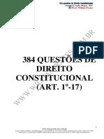 384 Questões de Constitucional 2 2 1.PDF