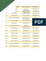 Doctor List at Avd