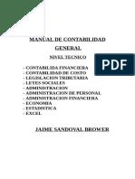 Manual de Contabilidad Tomo i