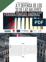 Veredictos del Tribunal de Mujeres Panamazónicas y Andinas FOSPA 2017
