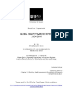 Global Competitiveness Report 2004-2005