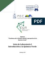 Guía Teórica Enseñanza de La Química Desde La Perspectiva de La Química Verde