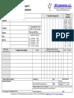 NPA Laboratories Sample Submit Form