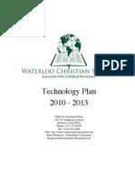 WCS Tech Plan