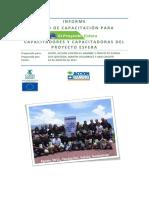 Informe FORMACION de FORMADORES Cpc Esfera Guatemala Agosto de 2011