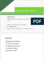 San Martin Historia