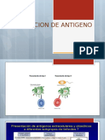 Prsentacion de Antigeno