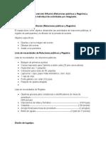 Evidencias de La Comisión Difusión y Reporte individual de actividades