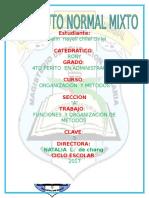 Funciones y Organizacion de Metodos