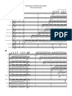 GARCIA-CANO.Sinfonietta for wind ensemble, second version.First Movement GENERAL