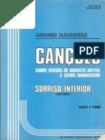 Albuquerque, Armando - Sorriso (Coletânea de Canções Sobre Versos de Meyer e Damasceno)
