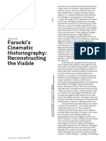U. Holl - Farocki's Cinematic Historiography, Reconstructin the Visible