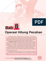 Bab 8 Operasi Hitung Pecahan