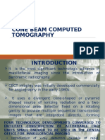 Cone Beam Computerised Toomgraphy