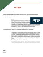 7.- Una epistemología para el estudio de la subjetividad- Sus implicaciones metodológicas.pdf