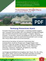 Brosur Pesantren Darunnajah 2 Cipining Bogor (2017/2018)