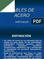 Lubricacion de Cables Electricos