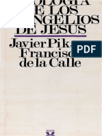 Pikaza Javier - Teologia de Los Evangelios de Jesus