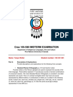 cree 100s90 midterm examination 185 301 861  weller tanya