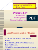 project report on nfl urea plant