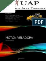 Caminos II Motoniveladora