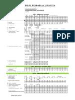 Form Isian Data Anggota PPNI